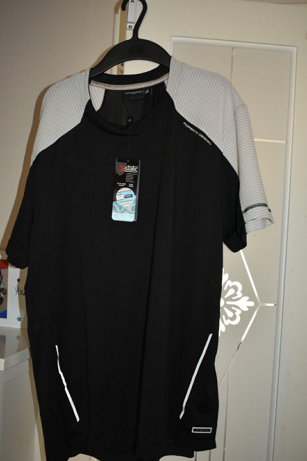 9cbc9b75 Adidas Porche Design Sport BS Size UK XL TEE BNWT oifigr17042-T-Shirts