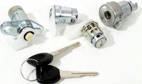 Honda Civic 91-95 3D japonés Lockset frontal del portón trasero Ignición Barril De Cerradura de puerta
