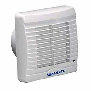 Vent Axia 251710F Axial Bathroom Extractor Fan Humidistat ...