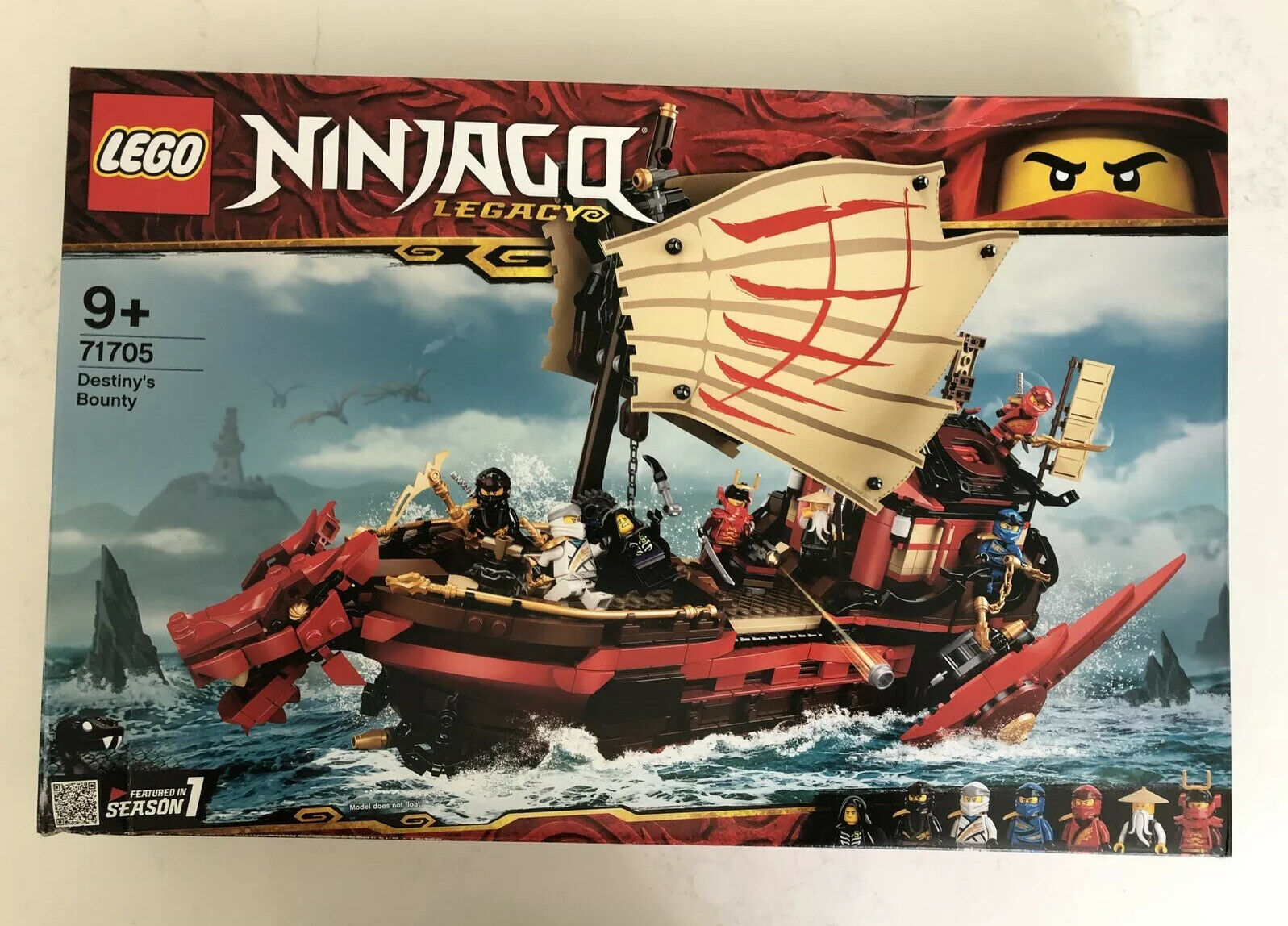 Building Kit 1781 Pcs LEGO Ninjago Destiny/'s Bounty 71705