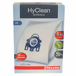 4x-Genuine-New-3D-Efficiency-HyClean-Dust-Bags-For-Miele-GN-Vacuum-Cleaners