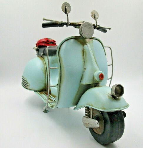 29cm Vespa Roller Piaggio Mint Blech Metall Modell Scooter Motorroller Geschenk