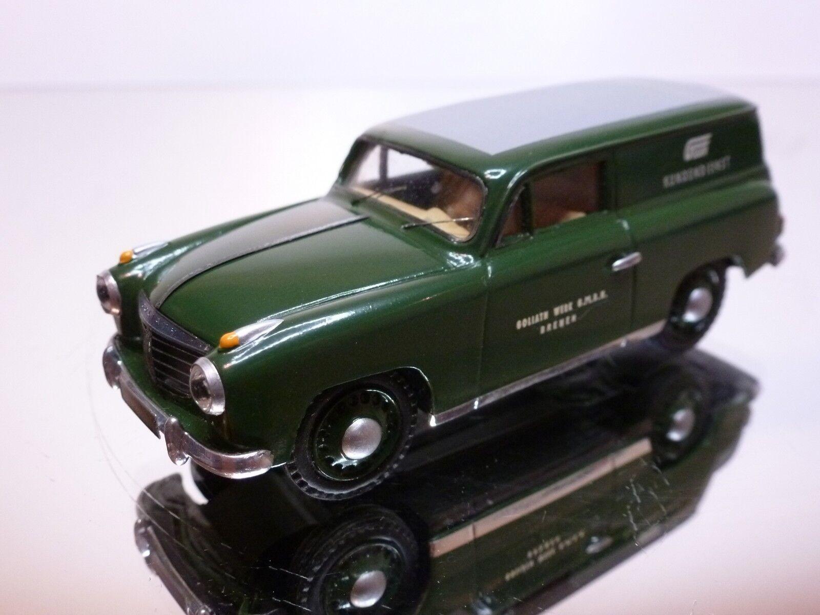HOMBURG GOLIATH GP 700E BREAK 1952 KUNDENDIENST - vert 1 43 - EXCELLENT - 33
