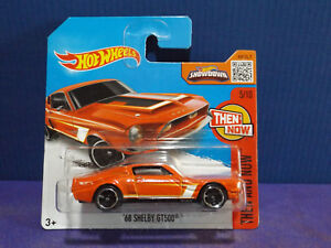 Hot Wheels 2016 Then and Now 68  Shelby GT500 orange
