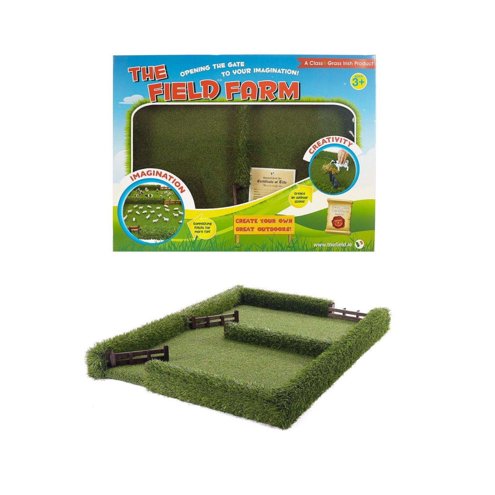THE Field Kids toy Grass Field Big Farm  - 1 32 Farm Toys