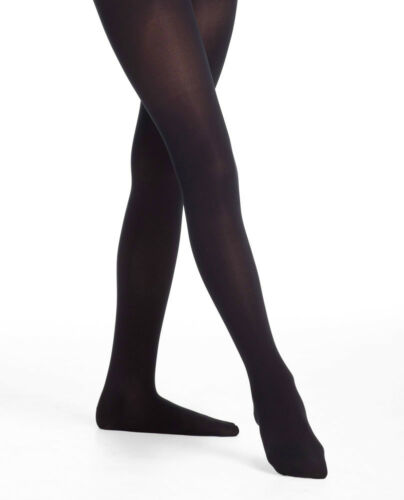 Body Wrappers A39 Women/'s Small//Medium Black Backseam Convertible Tights