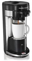 Hamilton Beach Flexbrew Single Serve Ground & K-cup Coffee Maker   49999a on Sale