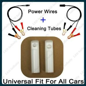 Details about Universal Auto Fuel Injector Flush Cleaner Adapter Cleaning  Tool DIY Kit
