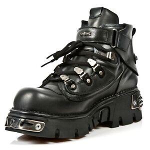 Reactor M Style Rock Newrock Black Boots New 654 S1 Ebay Unisex nXP4zaZ