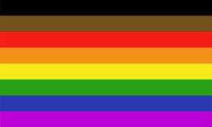 Pride-Rainbow-Flag-8-Stripes-Colors-5-034-x-3-034-Bumper-Sticker