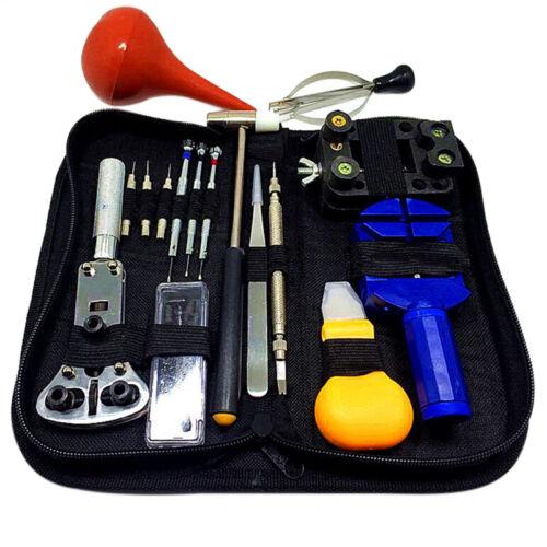 16pcs//Set Table Kit de Réparation Montre acier inoxydable Split La table outil