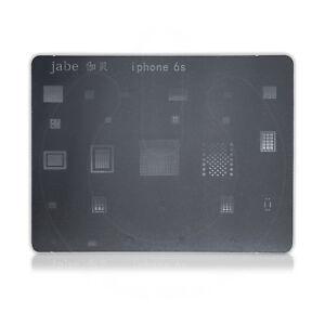 Jabe-chaleur-directe-BGA-Stencil-METAL-modele-pour-Apple-iPhone-6-S-Reball-Puce-IC