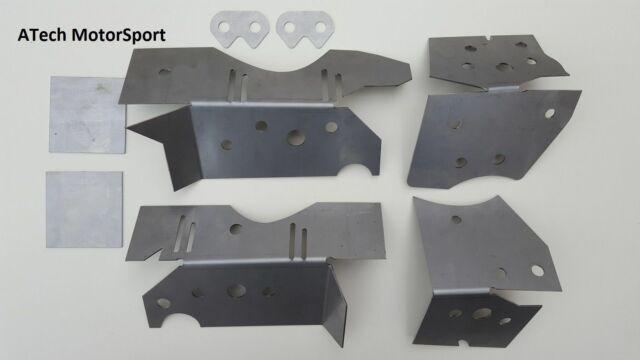BMW E46 Chassis Subframe Boot Floor Reinforcement 3mm Plate Kit Drift//track M3
