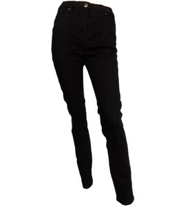 scuro gamba a donna color 22 Jeans e cioccolato stretta marrone scuro 10 taglia da twvq1xpET