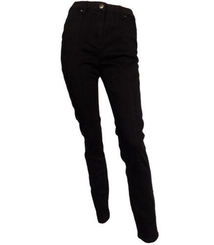 marrone Jeans gamba donna taglia da scuro e 10 cioccolato a scuro 22 color stretta ztrzw