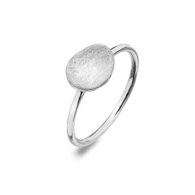 Paw Print Heart Ring Solid Sterling Silver 925 Stamped Size J Q Brand New Gift