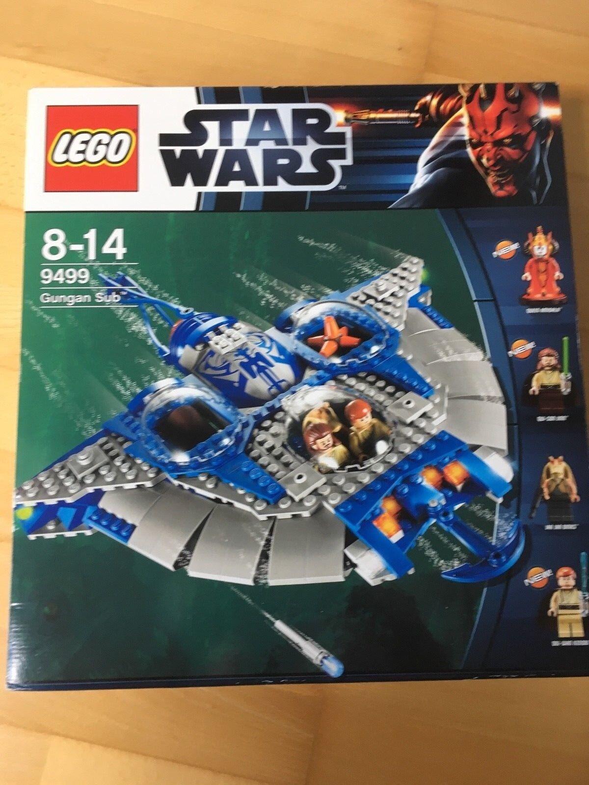 LEGO StarWars Gungan Sub (9499) - ohne Figuren - neuwertig