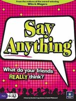 Say Anything Party Game/board Game (new)