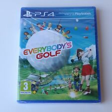 EVERYBODY'S GOLF - SONY PS4 PLAYSTATION 4 GAME - NEW & SEALED