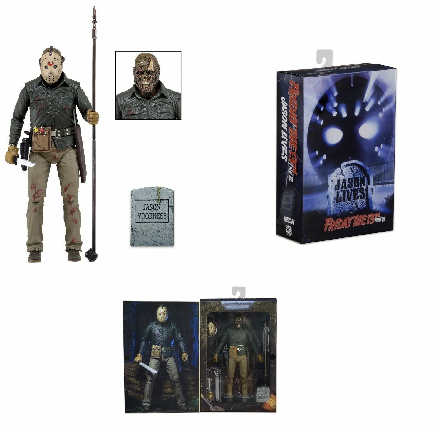 NECA FRIDAY 13TH PART 6 ULTIMATE JASON VOORHEES  7