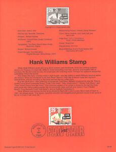 9318-29c-Hank-Williams-Stamp-2723-USPS-Souvenir-Page