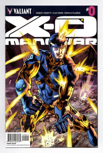#0 1:20 BRYAN HITCH VARIANT BAGGED BOARDED VALIANT COMICS VF 2012 X-O MANOWAR