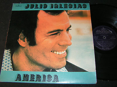 JULIO IGLESIAS America / Colombia LP 1976 ALHAMBRA 9017