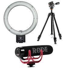Diva Ring Light NOVA with Vanguard ESPOD Tripod & Rode VideoMic GO - YouTube Kit