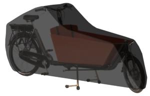 Transportrad Abdeckung  DS Covers Cargo 2-Räder - Grau