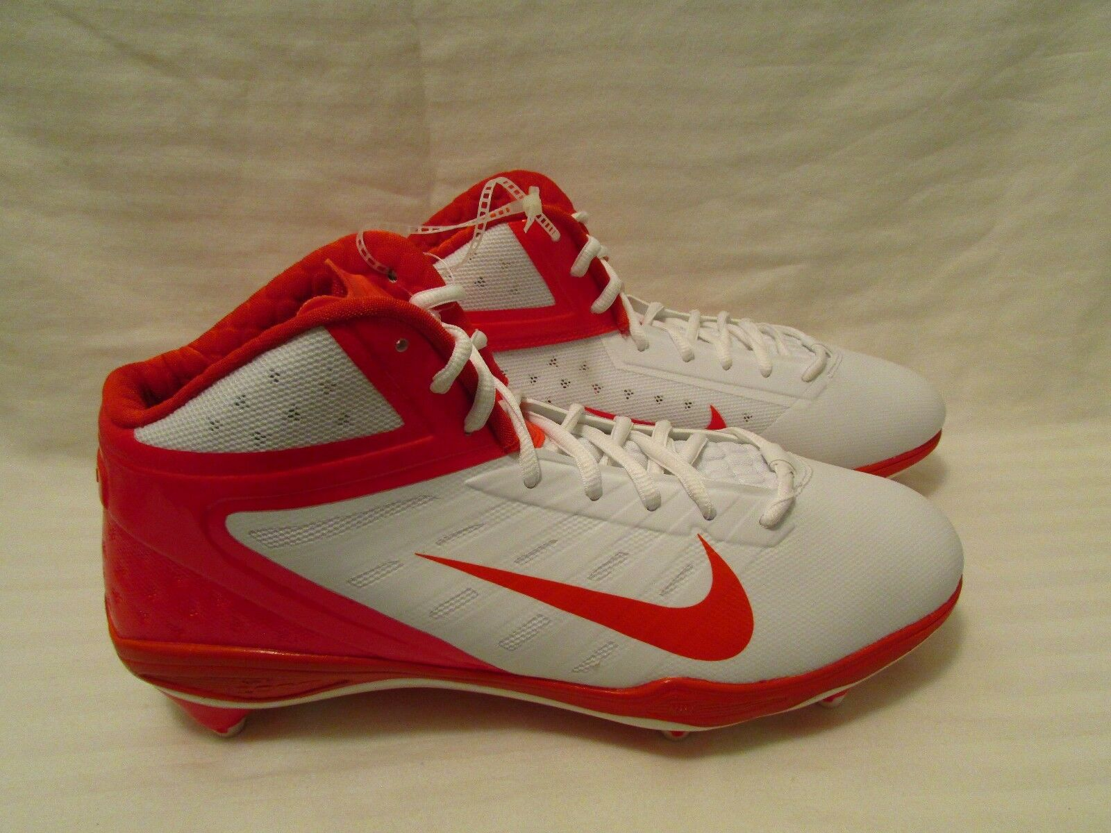 Nike Men Alpha Talon Elite 3/4 D Football Orange Cleats Reg120 Sz 12 Orange Football 526208 180 589e57