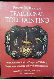 Traditional-Tole-Painting-by-Roberta-Ray-Blanchard-Paperback-1977