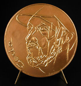 medal-Edmond-Ceria-Bridge-new-amp-the-gallant-green-sc-Jacques-DESPIERRE-1972