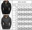 Men-039-s-Solid-Full-Zip-Up-Hoodie-Classic-Hooded-Zipper-Sweatshirt-Jacket-Coat-Tops thumbnail 2