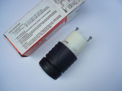 Pass /& Seymour L1730C turnlok connector 30A 600V 3PH 3P4W NEMA L17-30R