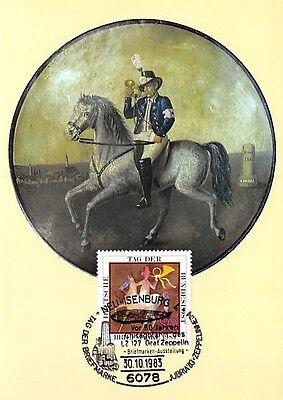 ZuverläSsig Brd Mk 1983 Postreiter Pferd Horse Maximumkarte Carte Maximum Card Mc Cm D9512 Diverse Philatelie Briefmarken