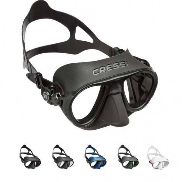 Calibro Tauchmaske Apnoemaske Fog Stop Beschlagsvermeidung Cressi  | Reichhaltiges Design