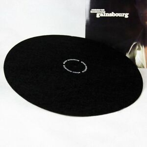elvon-12-039-039-LP-Vinyl-turntable-record-wool-pad-Phonograp-antistatic-flat-soft-mat
