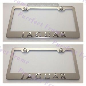 BUICK 3D Emblem Stainless Steel License Plate Frame Rust Free W// Caps