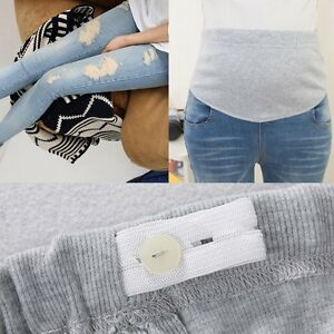New-Pregnant-Women-Abdominal-Maternity-Ripped-Hole-Pants-Belly-Leggings-Trousers