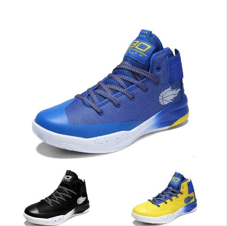 Casuals shoes Men Athletic Basketball Hip-hop Sneaker High Top Mesh Sport Trail