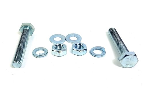 Exhaust Bolt and Nut and washers Set BZP High tensile High Strength steel M10 b1