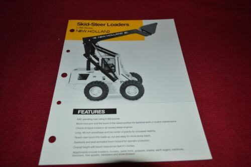New Holland L-780 Skid Steer Dealer/'s Brochure DCPA2
