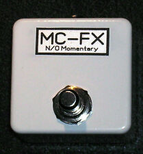 Momentary Footswitch N/O Tap Tempo - Drum Machines - Alesis SR16 SR18 White
