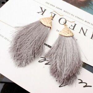 Fringe-Dangle-Earrings-Women-Long-Tassel-Hook-Boho-Jewelry-Chunky-Drop-Bohemian