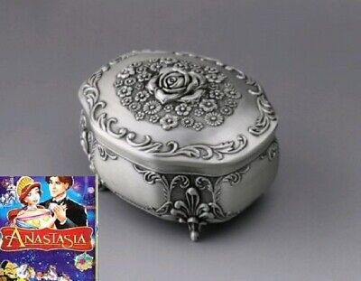 ANATASIA Tin Alloy Crown Design Music Box ♫  Once Upon a December ♫
