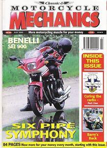 Classic-Motorcycle-Mechanics-magazine-mint-condition-July-2000-No-153