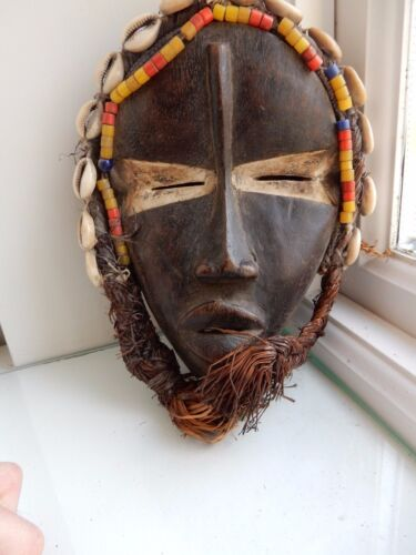 AFRICAN TRIBAL MASK 19TH 20TH c x Country house Ethnographic Collection SD