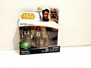 Star Wars Action Figure Lando Calrissian Kessel Guard Laser Cannon Blaster SOLO