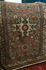 Antico tappeto caucasico Shirvan originale, disegno Lesghi - Antik caucasian rug