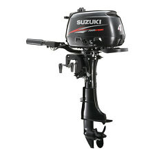 "Suzuki 4hp DF4S Outboard, EFI, 4-stroke, 15"" Shaft - Manual - Tiller"